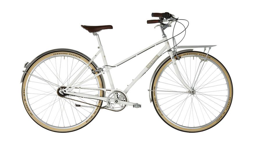 Ortler Bricktown kaupunkipyörä , valkoinen